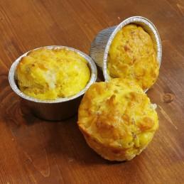 Muffin con salsiccia