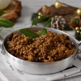 Salsiccia e lenticchie in...